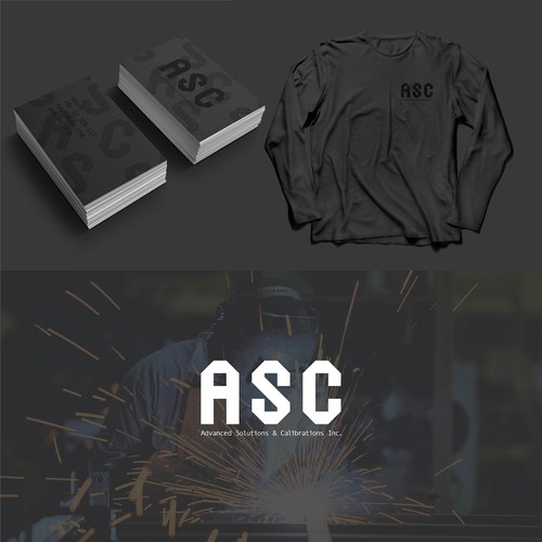 Fabrication design with the title 'ASC Advanced Solutions & Calibrations Inc'