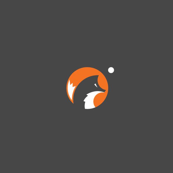 Fox brand with the title 'Amazing fox logo'