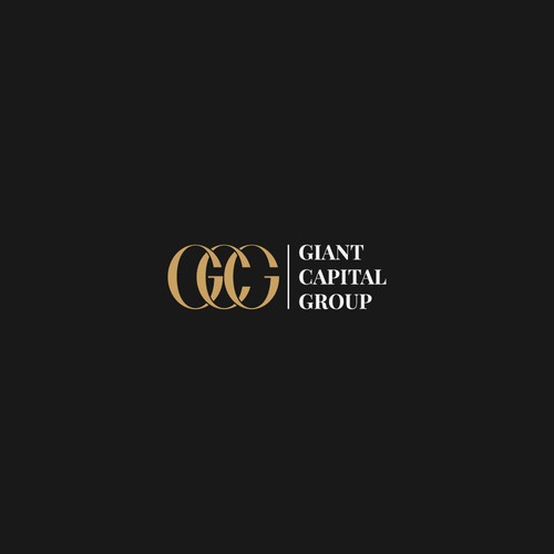Professional design with the title 'Luxury Logo for Giant Capital Group Luxury Logo'