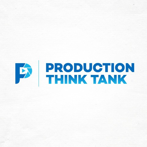 Thinking logo with the title 'Creative logo for advertising production'