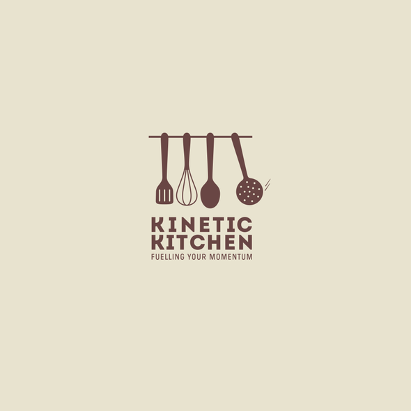 Spatula logo with the title 'Logo for producer of ready to serve meals'