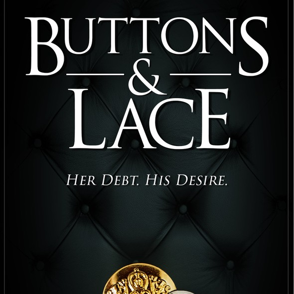 Classy book cover with the title 'Dark Romance Erotic Cover'