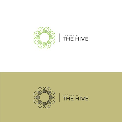 Unity logo with the title 'Logo design for The Hive'