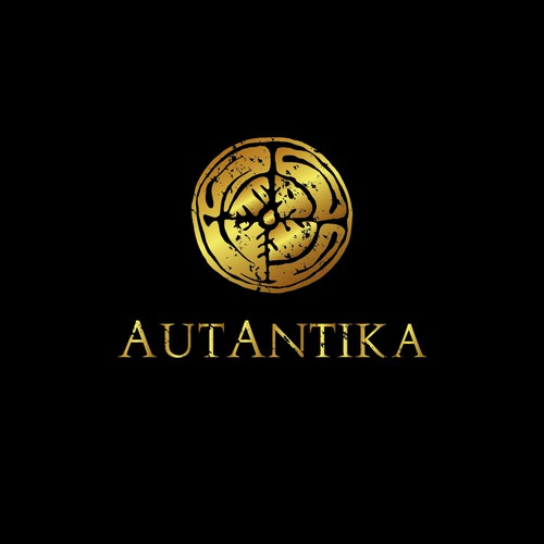 Antique logo with the title 'AutAntika'