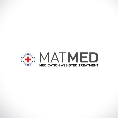 Treatment logo with the title 'Logo concept for medical treatment '