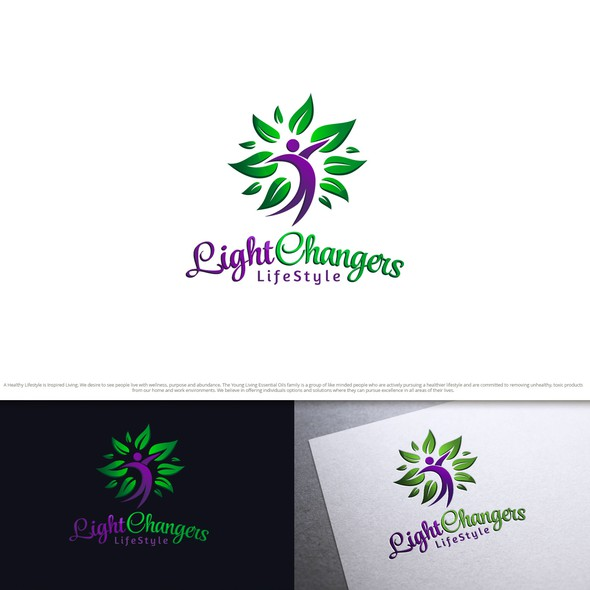 Essence design with the title 'LightChangers'