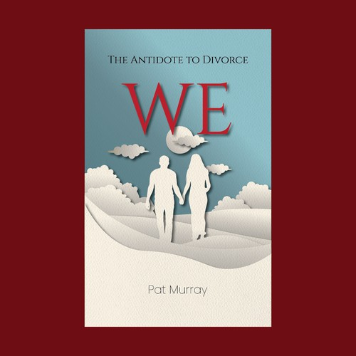 Lovers design with the title 'Book Cover Design'