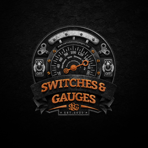 Copper logo with the title ' S & G Logo '
