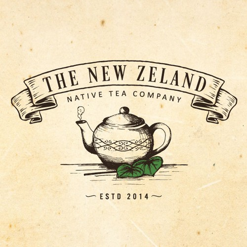 Classic design with the title 'Create a classic/rustic logo for a unique herbal tea company!'