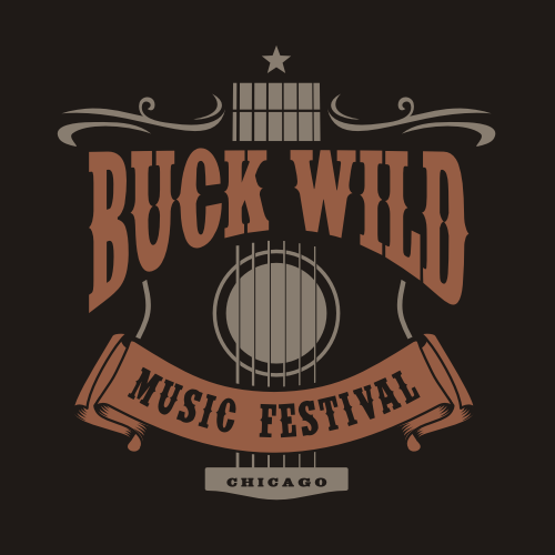 Festival logo with the title 'Western Music'