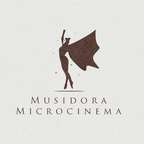 Theater logo with the title 'Musidora Microcinema'