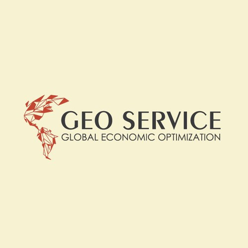 Globe brand with the title 'geo service'