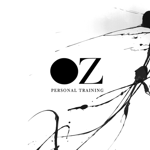 Chaos design with the title 'Luxury Bold Personal Training Brand Concept'