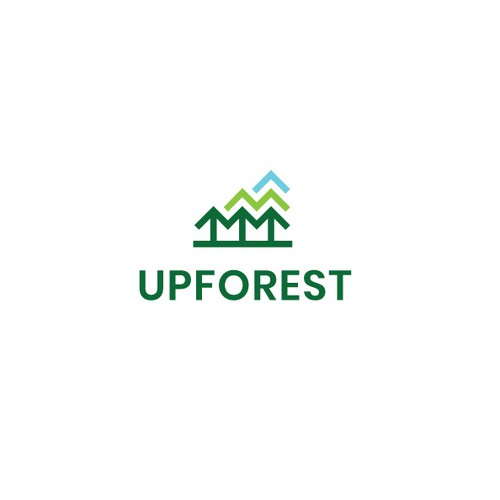 Environmental design with the title 'Upforest'