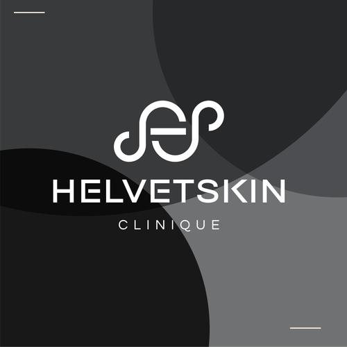S logo with the title 'HelvetSkin'
