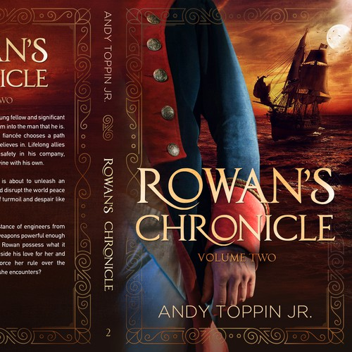 Adventure book cover with the title 'Rowan's Chronicles - Book 2'