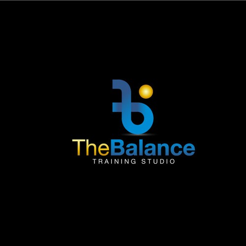 Bodybuilding logo with the title 'the balance'