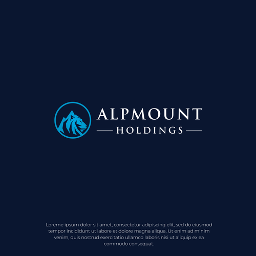 Lion brand with the title 'Alpmount Holdings'
