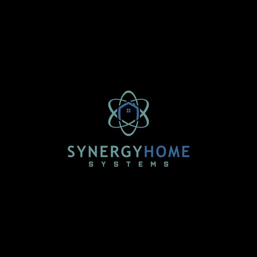 Synergy logo with the title 'Synergy Home Logo concept'