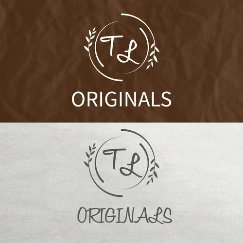 Ceramic logo with the title 'Logo. Folk art potter with a modern lux twist.'