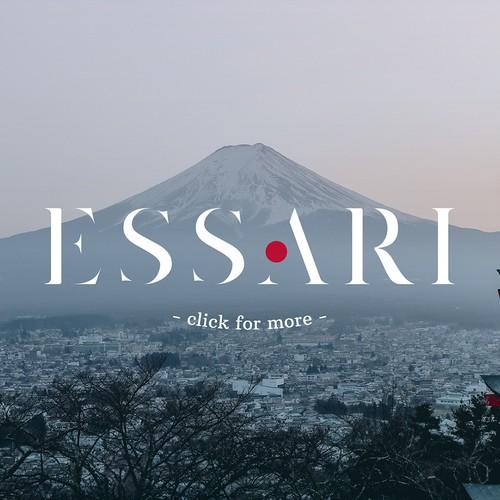Kitchenware logo with the title 'ESSARI'