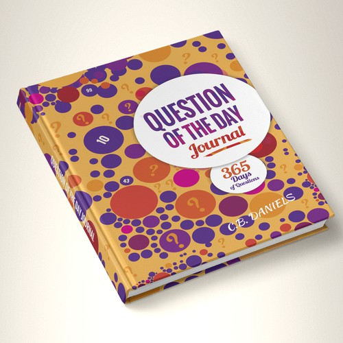 Purple book cover with the title 'book design'