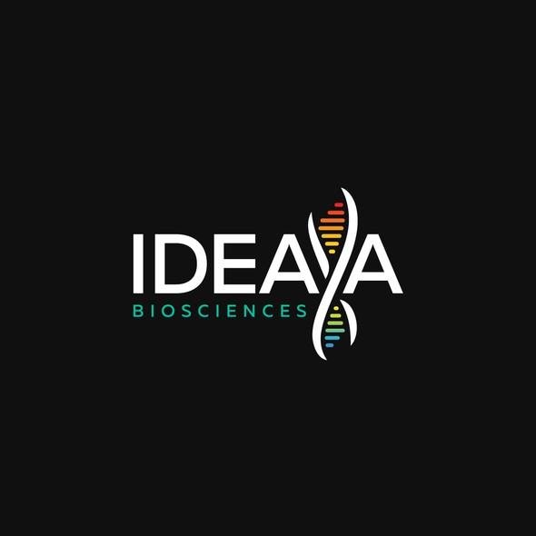 Biotech design with the title 'Creative logo for IDEAYA project.'