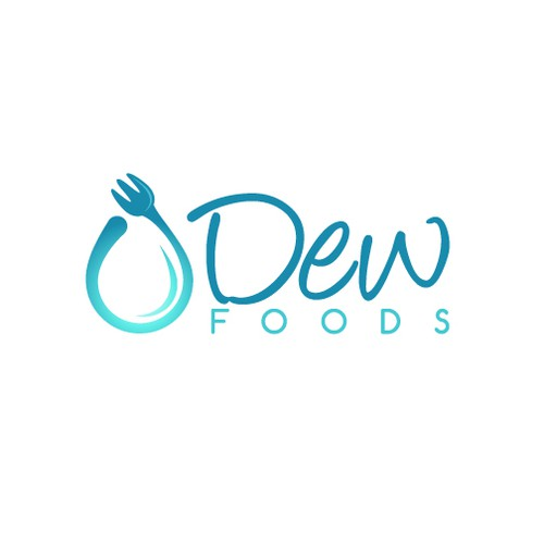 Food brand with the title 'Logo for DEW Foods'