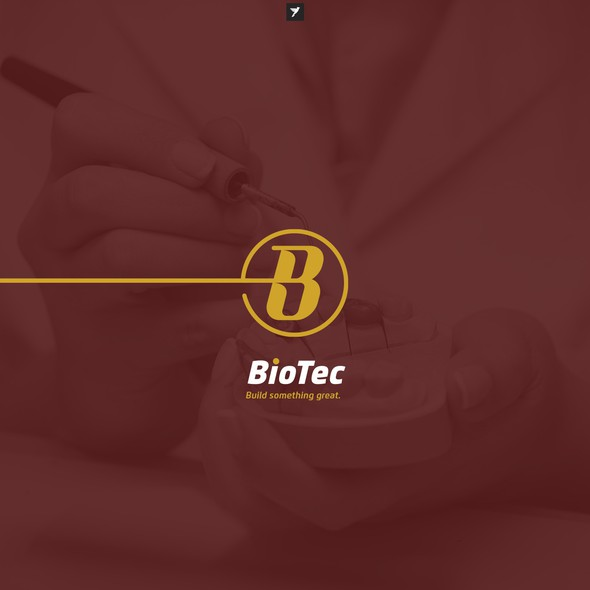 B brand with the title 'B monogram for dental laboratory '