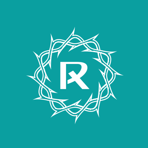 Cross design with the title 'Logo For Reach Church'