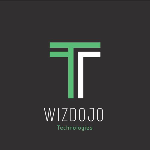 Dojo logo with the title 'A logo concept for Wizdojo Technology'