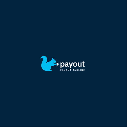 Squirrel design with the title 'payout'