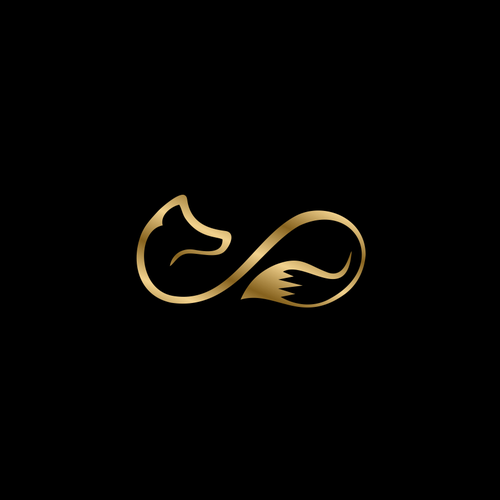Vitamin logo with the title 'Fox + Infinity Symbol'