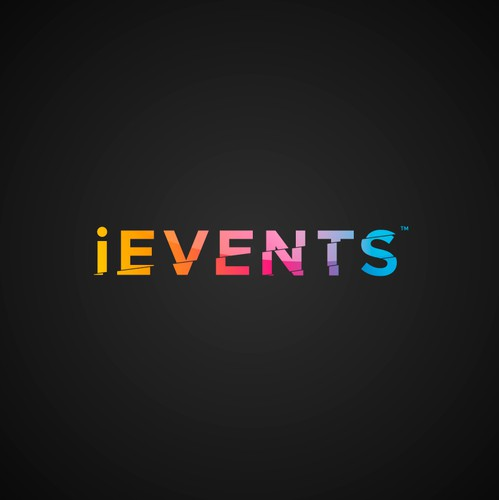 Event design with the title 'iEvents'