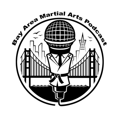 Krav Maga logo with the title 'Bay Area Martial Arts Podcast'