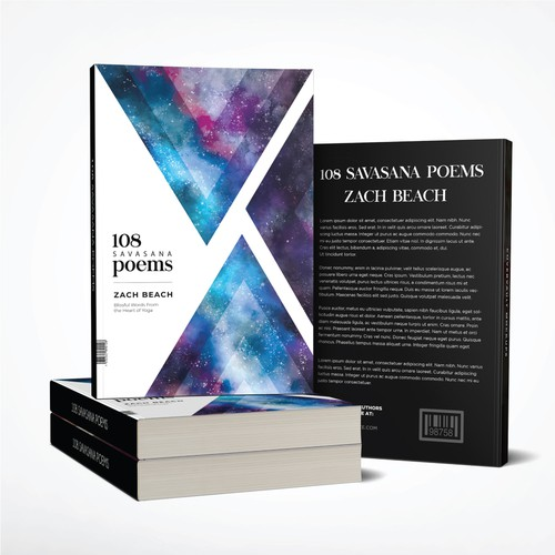 Poetry design with the title 'Book Cover for Poetry Collection'