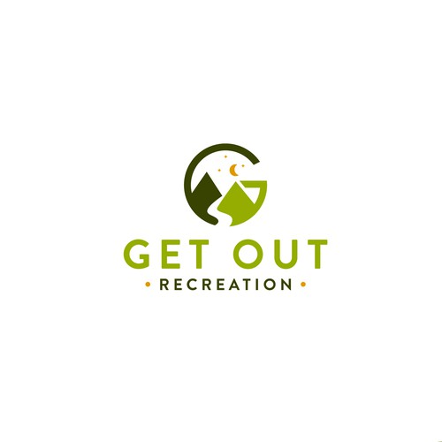 Recreation design with the title 'Get Out'