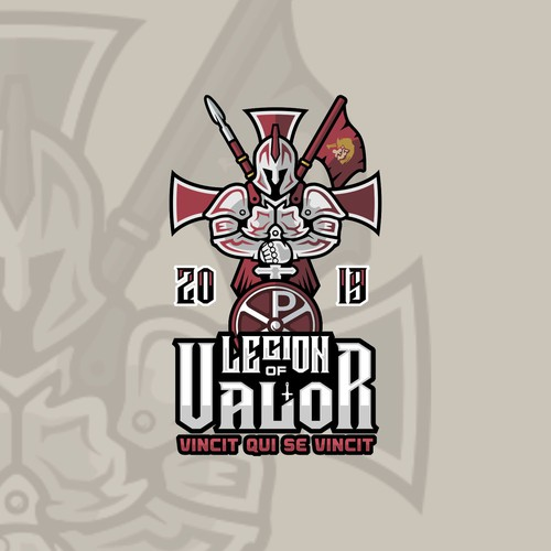 War logo with the title 'Legion of Valor'
