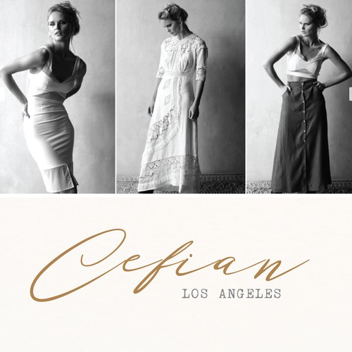 Modeling logo with the title 'Logo for a Wholesale Fashion Company.'