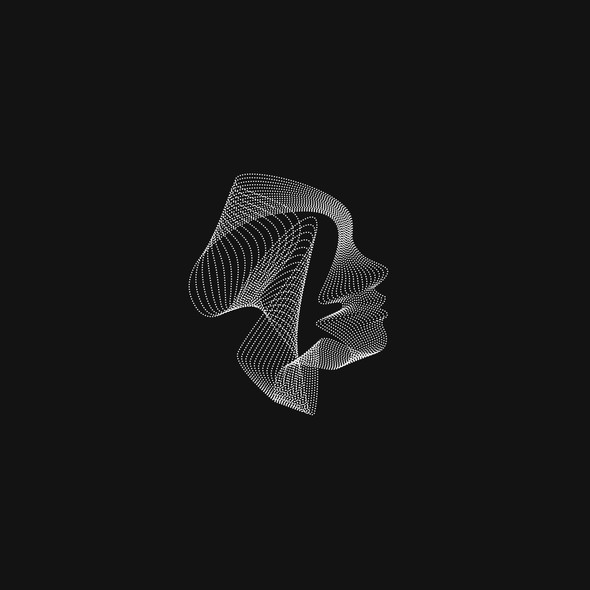 Black design with the title 'BEAUTY OF GRAY'