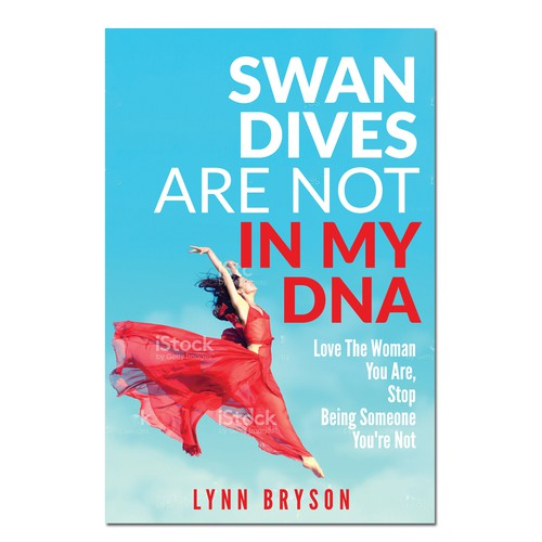 Lovely design with the title 'Swan Dives needs a powerful book cover'