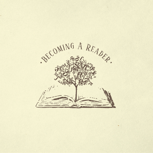 Work logo with the title 'Becoming A Reader'