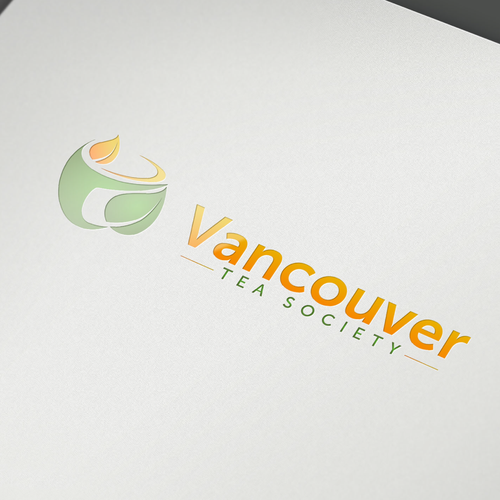 Complex design with the title 'Vancouver Tea Society'
