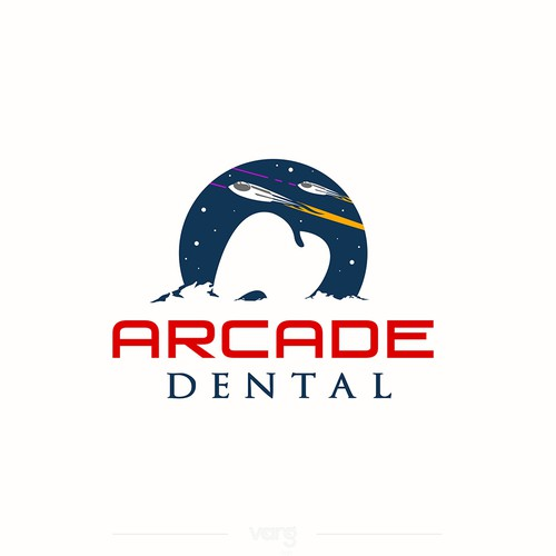 Space brand with the title 'Arcade Dental'