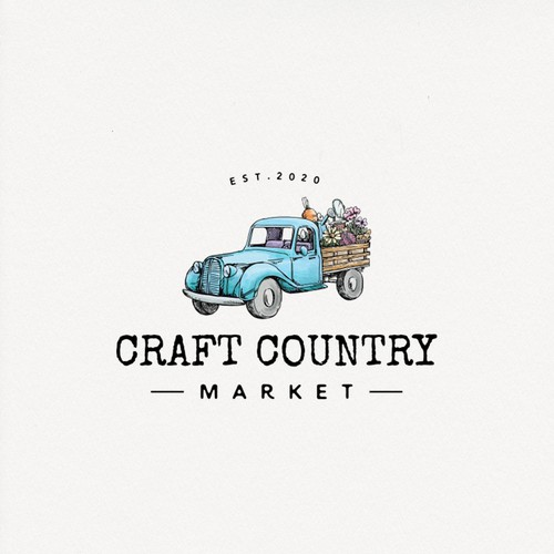 Truck logo with the title 'Craft Country'