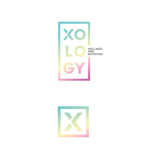 X logo with the title 'XOLOGY logo'