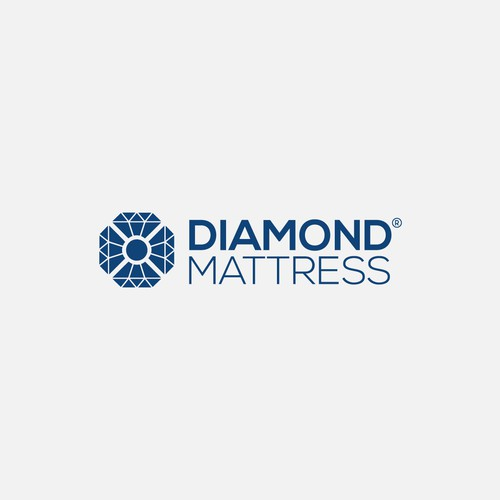 Outstanding logo with the title 'Diamond Logo'