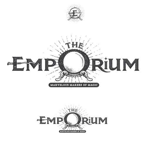 Magic design with the title 'The Emporium'