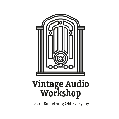 Audio brand with the title 'Vintage Audio Workshop'