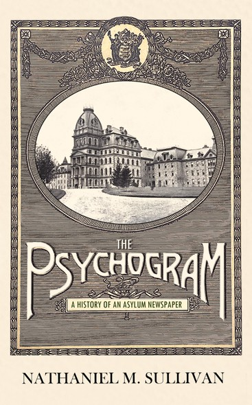 Elegant book cover with the title 'The Psychogram'